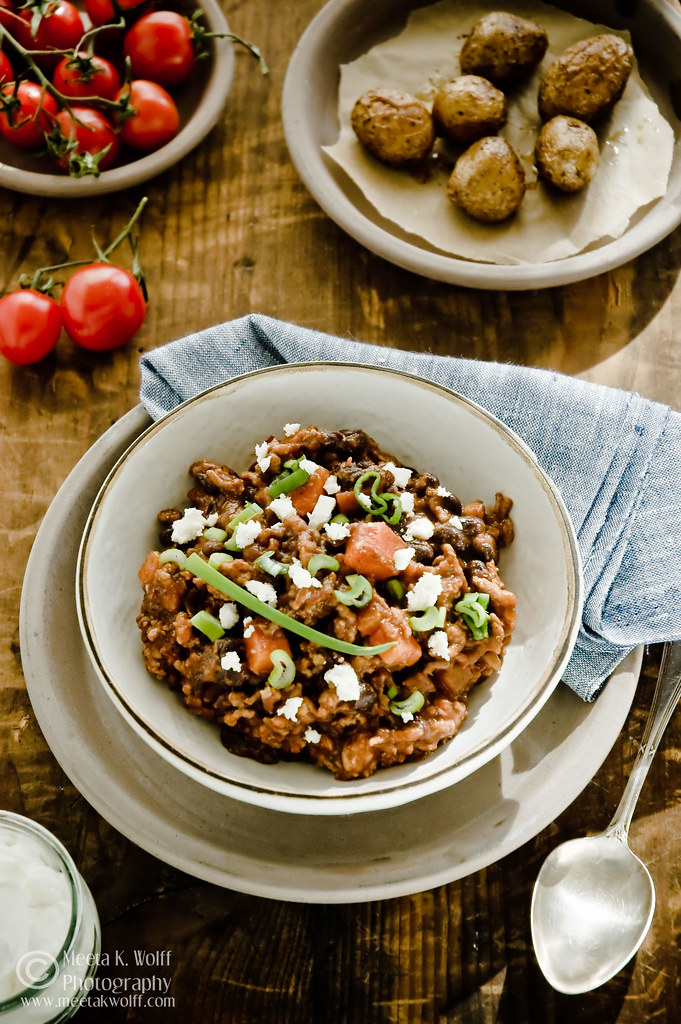 Black Bean Beef Chilli (0027) by Meeta K. Wolff