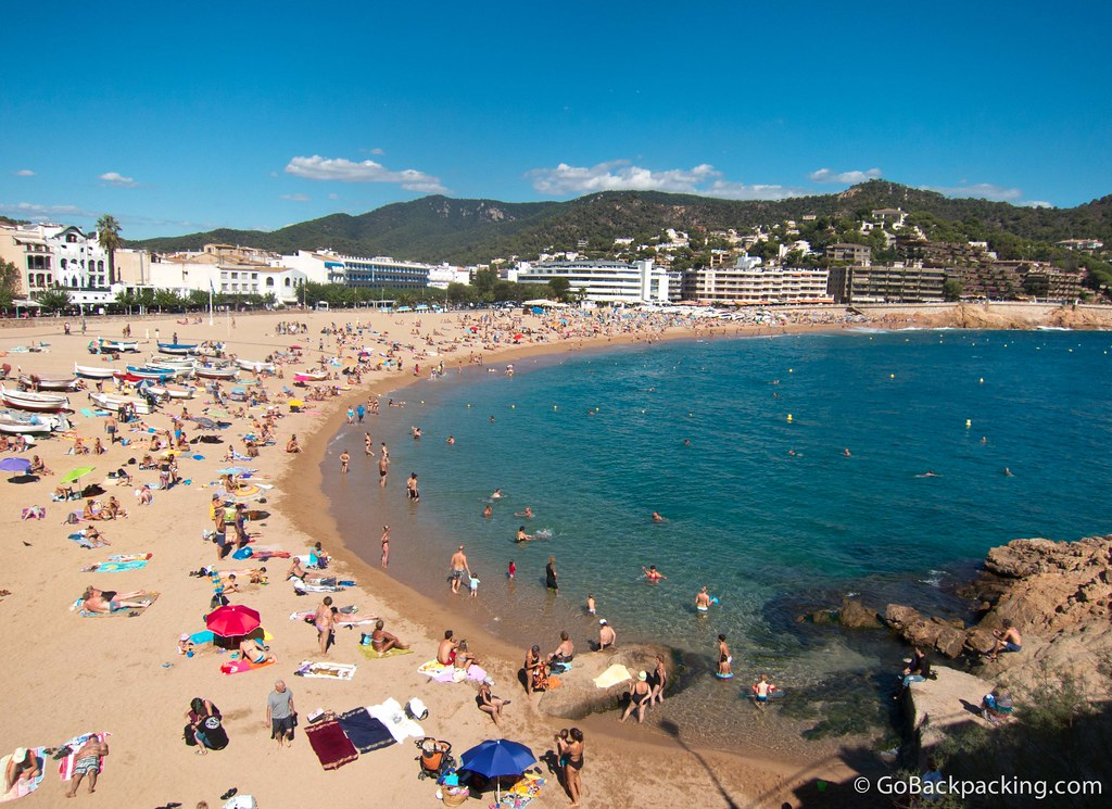 Tossa de Mar was my favorite beach town in Costa Brava