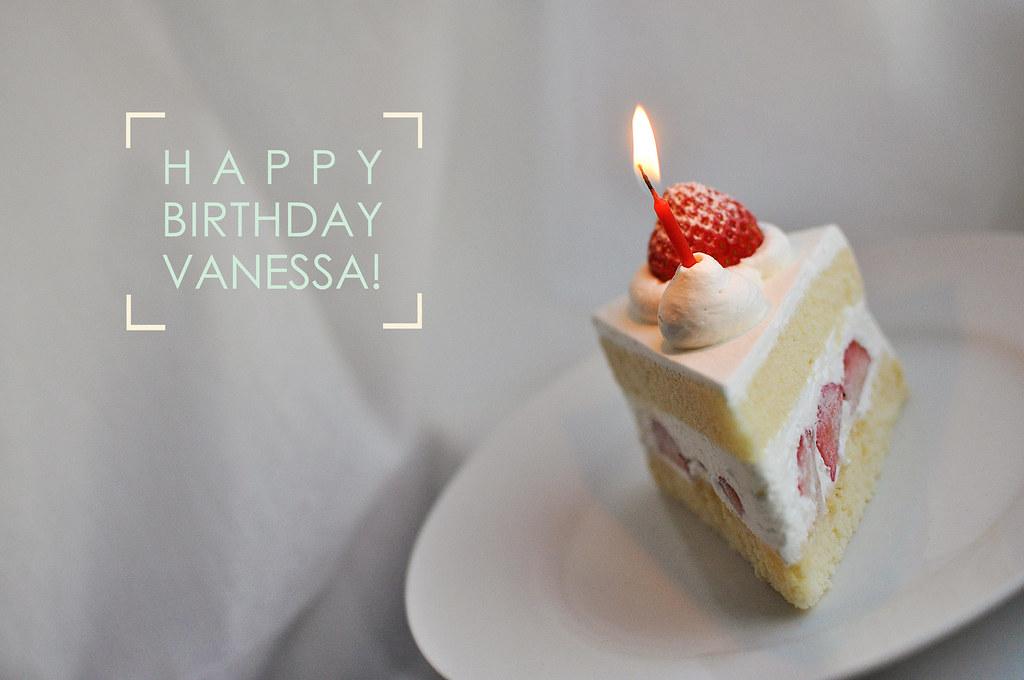 Happy Birthday Vanessa Cake