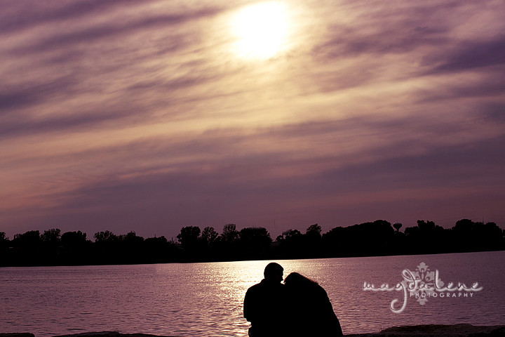 green bay depere wi engagement portrait pictures