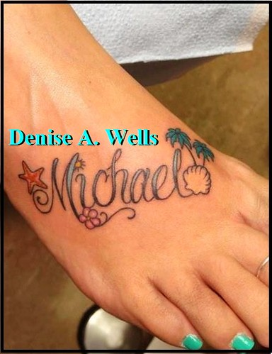 Always In My Heart Tattoo By Denise A Wells Lettering Hea Flickr