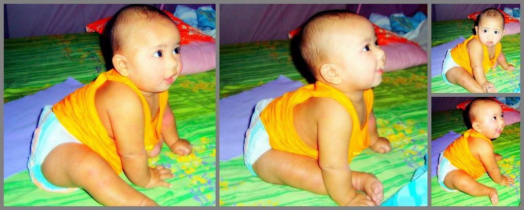 Baby Yash sitting | Atanu Phukan | Flickr