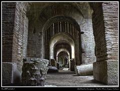 Sotterraneo Anfiteatro Campano - HDR