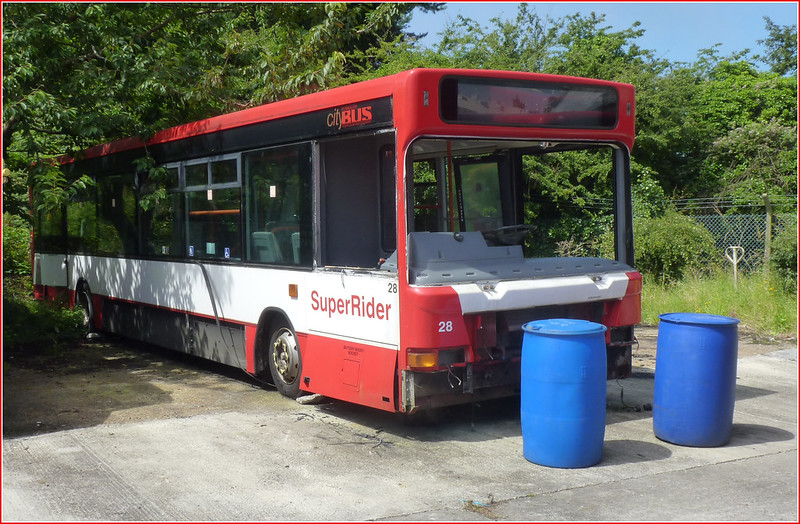 Withdrawn: Plymouth Citybus 028 T128EFJ