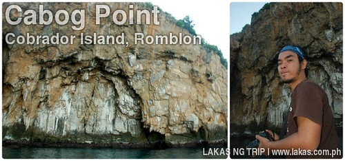 Cabog Point in Cobrador Island, Romblon