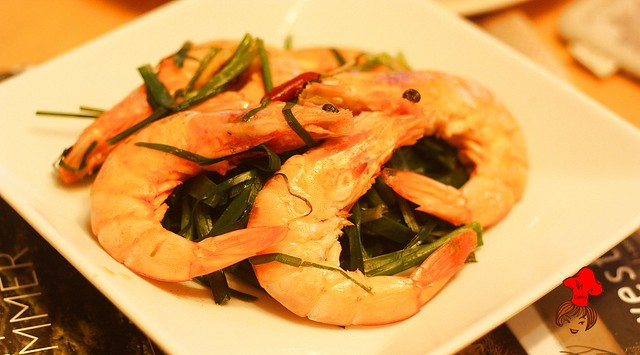 Shrimp with chinese chives 5