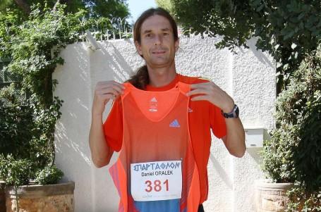 Orálek doběhl Spartathlon na 11. místě. DĚKUJI za podporu, vzkázal fanouškům