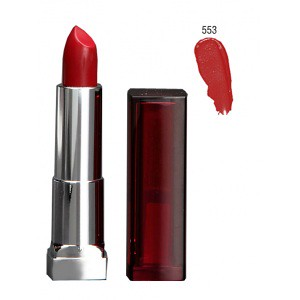 Maybelline Color Sensational Lipstick 553 Glamourous Red