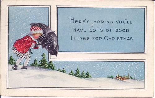 Vintage Christmas 1919