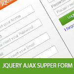 Jquery AJAX Supper Form + PHP & MYSQL