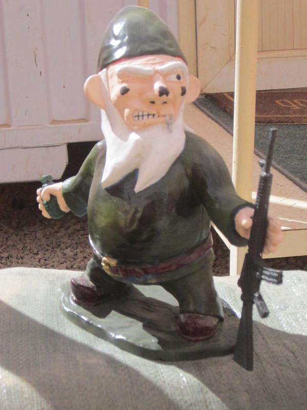 Combat Garden Gnome in Combat Zone