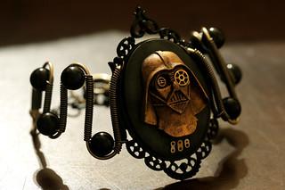 Steampunk Darth Vader Bracelet by Daniel Proulx