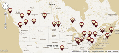 Tim Hortons Locations Usa Map My Blog - Tim hortons us locations map