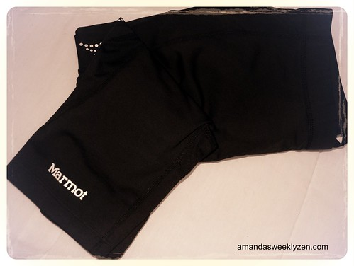 Marmot Running Tights by Amanda's Weekly Zen