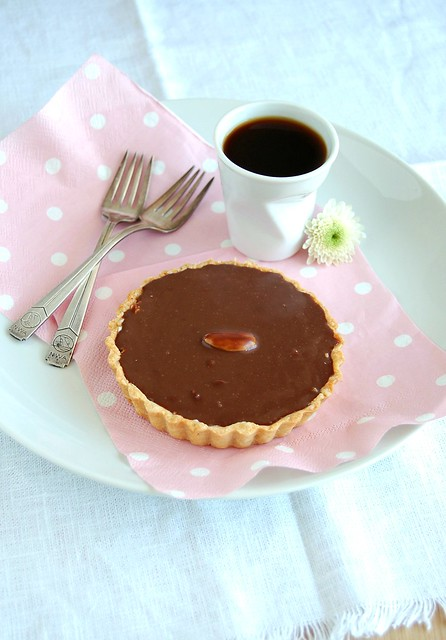 Almond joy tartlets / Tortinhas almond joy