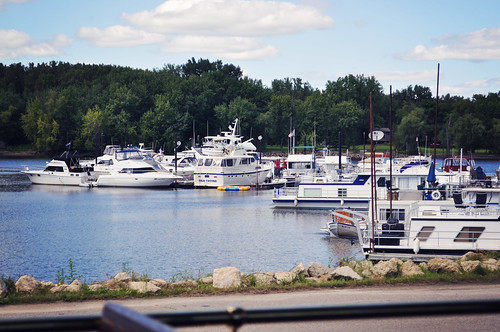 Marina on the Mississippi River ~ Red Wing, MN