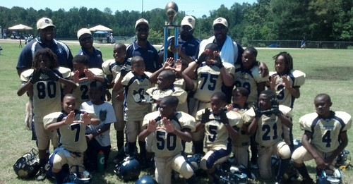 2012 Youth Team/Cheer Squad of the Week Winner // Douglasville Tiger Cubs, an 8 & U youth football team located in Douglasville, GA // October 1, 2012