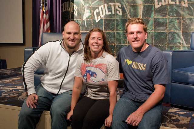 Colts Women's 101 Pat McAfee Mike McGlynn