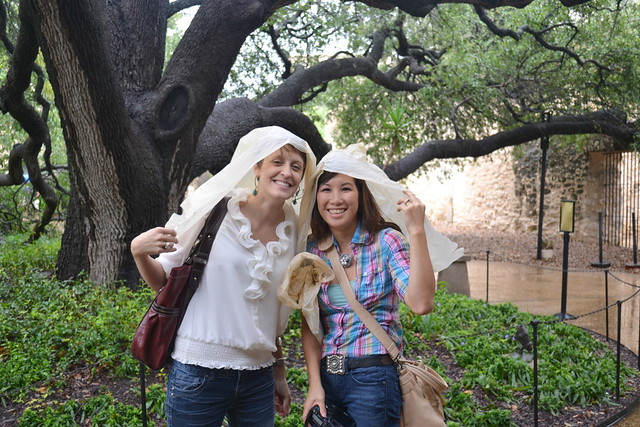 Jan & Kellee at the Alamo
