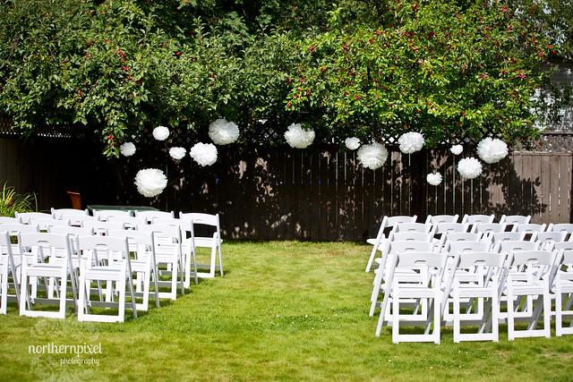 diy backyard wedding ceremony flickr photo sharing