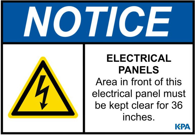 Electrical Panels Sign