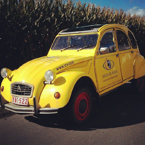 we had fun with this #2cv