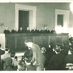 Supreme Court day in the College of Law, The University of Iowa, 1934