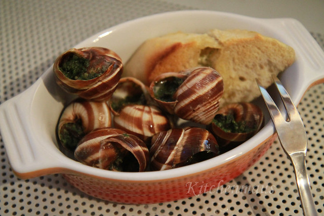 resto-hopping, escargot