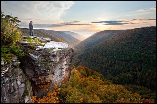 autumn landscape scenic wv almostheaven blackwaterfallsstatepark lindypoint