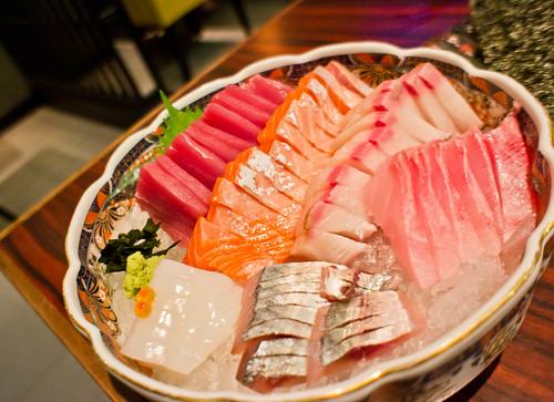 Japanese's sashimi