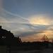 Sunset over King's Cross
