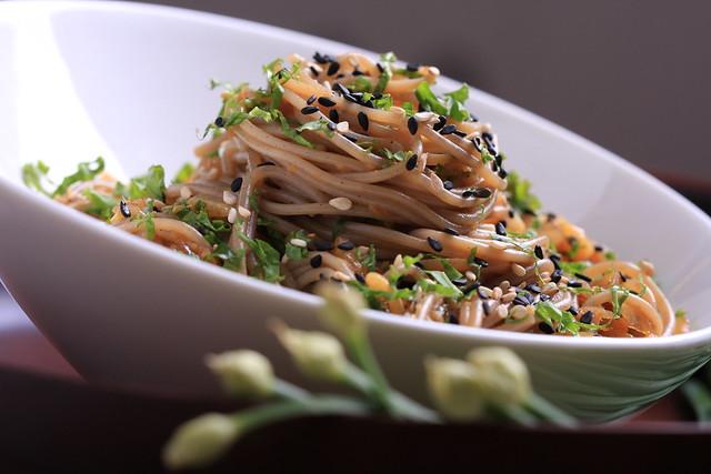 Sesame-Ginger Soba Noodles