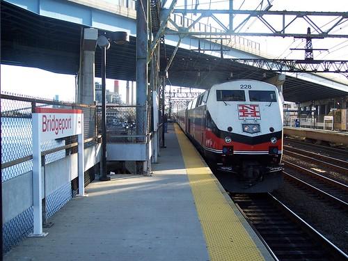 Bridgeport Platform and Train