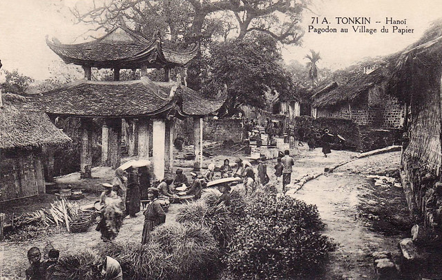 N.VIETNAM - Hanoi, Pagodon Au Village Du Papier, 1900-1910s
