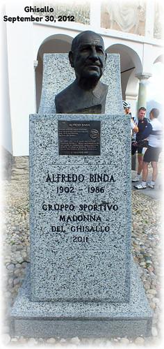 Ghisallo - Monumento ad Alfredo Binda