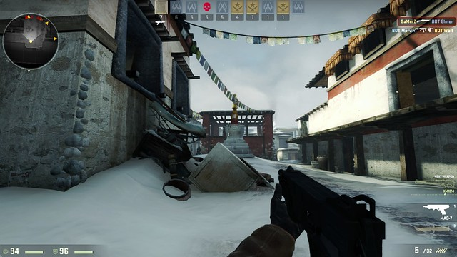 CS Go - In-Game Screenshot