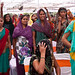 Local women attend the gram sabha, or village assembly meeting, in Barrod village of Rajasthan's Alwar district on 5 October 2012