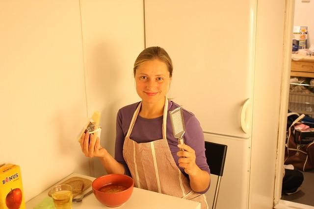 Mundar parmesaninn
