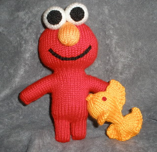 New Elmo (and his friend Dorothy) for Dorothy