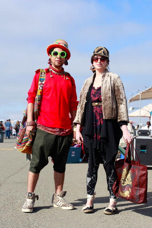 ricardo_haley street style, street fashion, Alameda Flea Market