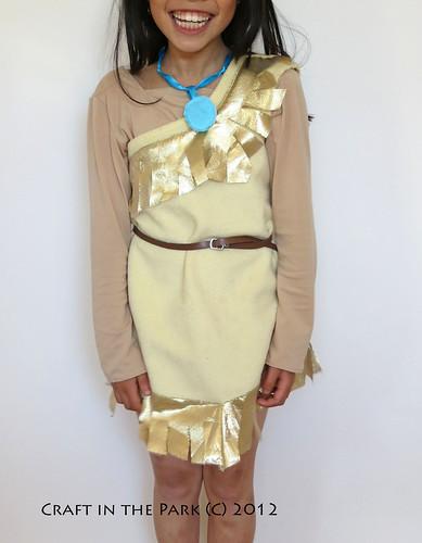 Pocahontas costume by saffronbee1