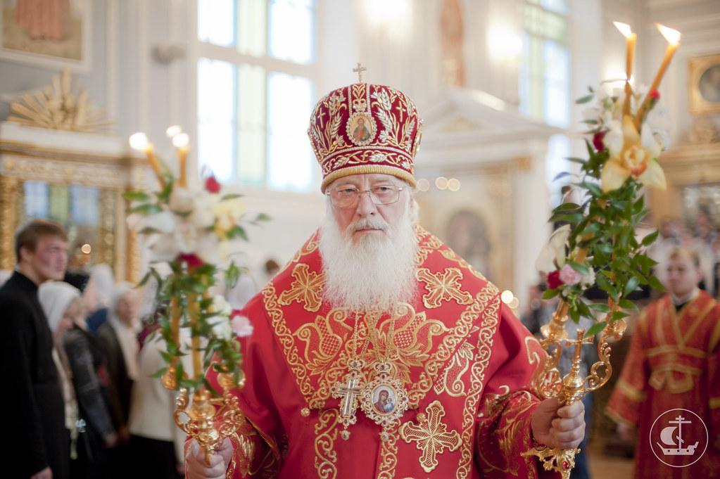 Митрополит Новгородский и Старорусский Лев