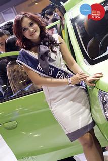 Miss Favourite IIMS 2012 (Mitsubishi)