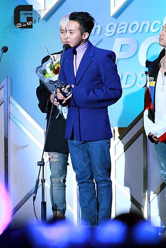 Big Bang - The 5th Gaon Char K-Pop Awards - 17feb2016 - G-One - 11