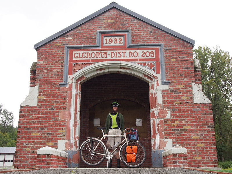 Old Glenoma School Entrance