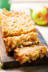 Oatmeal Apple Coffee Cake