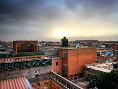 On the rooftops #Marrakech #Morocco