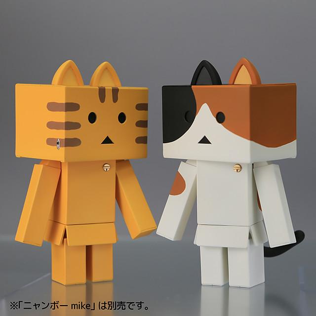 日本人氣商品喵楞新作! 海洋堂 Sofubi Toy Box006 貓咪阿楞 三色/虎斑 ニャンボー