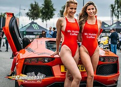 Vroom Vroom with Cannonball Ireland 2016 & The Popular Mr Hobbs Coffee Girls cheering on the Drivers.