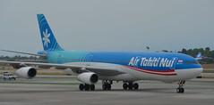 Air Tahiti Nui taxiing